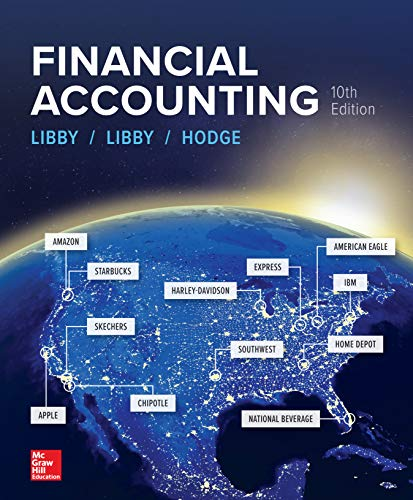 Financial Accounting By Robert Libby, Patricia Libby and Frank Hodge