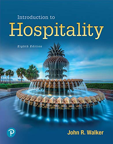 Introduction to Hospitality by John Walker